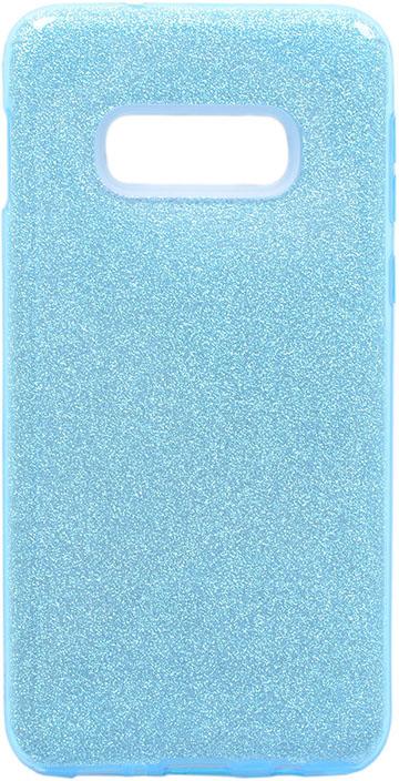 Чехол для сотового телефона GOSSO CASES для Samsung Galaxy S10e Brilliant Shine голубой, голубой