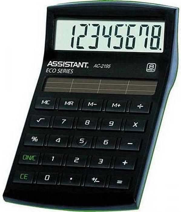 Настольный калькулятор Assistant F01128, черный, зеленый калькулятор canon ws 1210t 12 разряда настольный регулируемый наклон дисплея черный