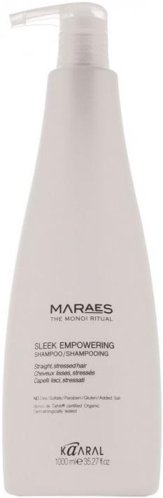 Шампунь для волос KAARAL Sleek Empowering Shampoo kaaral восстанавливающий несмываемый спрей для прямых поврежденных волос maraes sleek empowering spray treatment 150 мл
