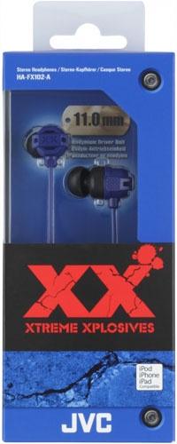 цена на Наушники JVC HA-FX102-A