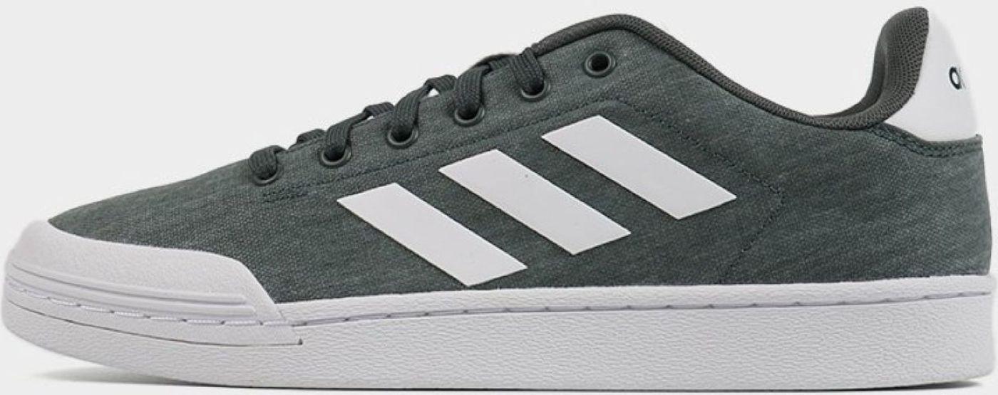 Кеды мужские Adidas Court70S, цвет: серо-зеленый. F34609. Размер 11 (44,5)F34609