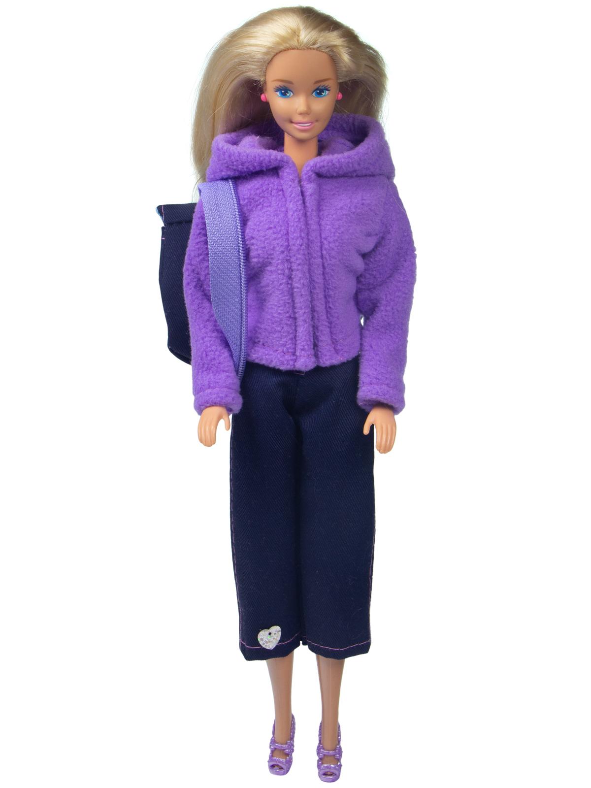 Одежда для кукол Модница Набор прогулочный для кукол 29 см сиреневый