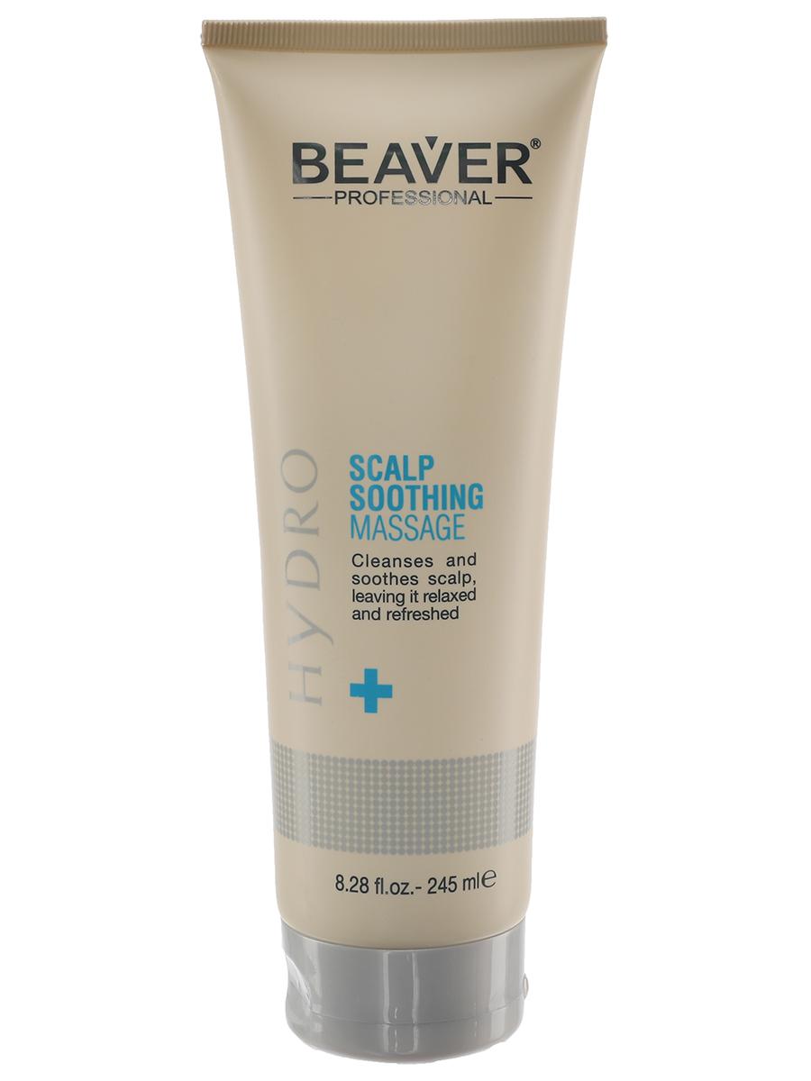 Средство для лечения кожи головы и волос Beaver Гель - Успокаивающий и увлажняющий средство для лечения кожи головы и волос hairfood дневной фиксатор густоты men medium 7 5