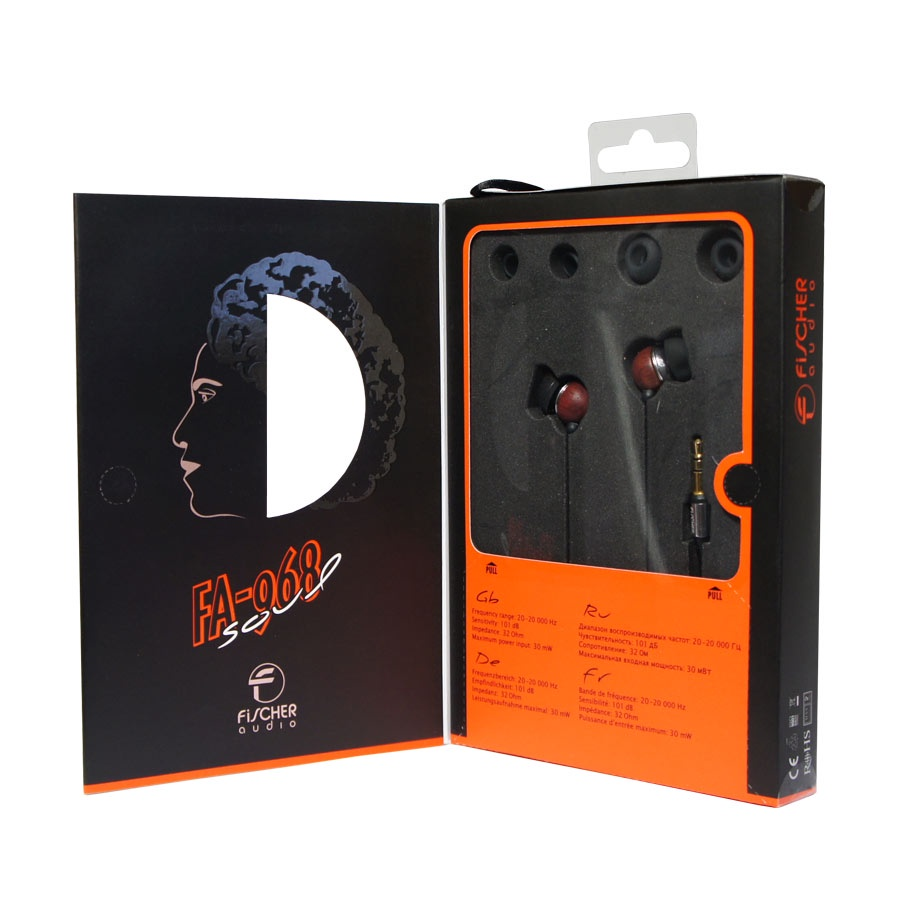 все цены на Наушники Fischer Audio FA-968 soul, коричневый, черный, темно-коричневый онлайн