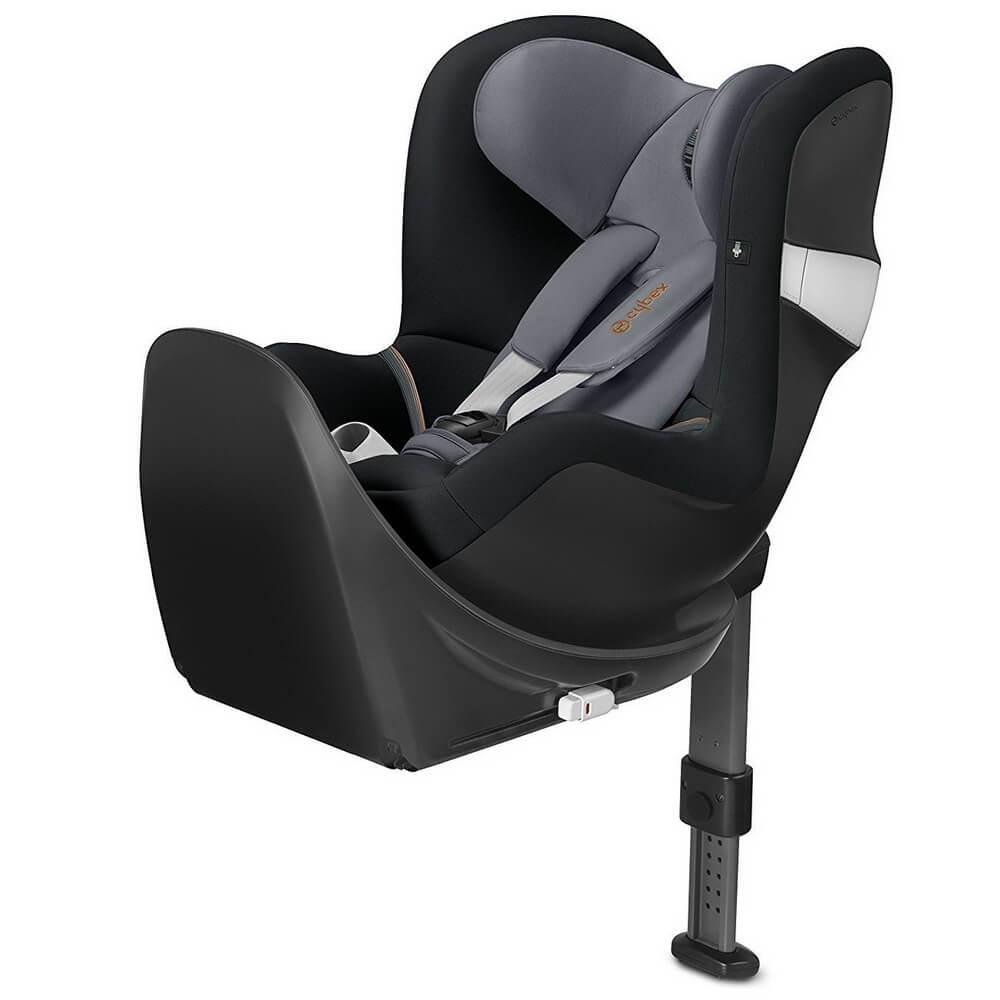 Автокресло Cybex Sirona M2 + Base M черно-серый автокресло cybex sirona m2 i size 0 18 кг manhattan grey