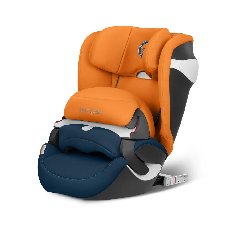 Автокресло Cybex Juno M-fix оранжевый цена