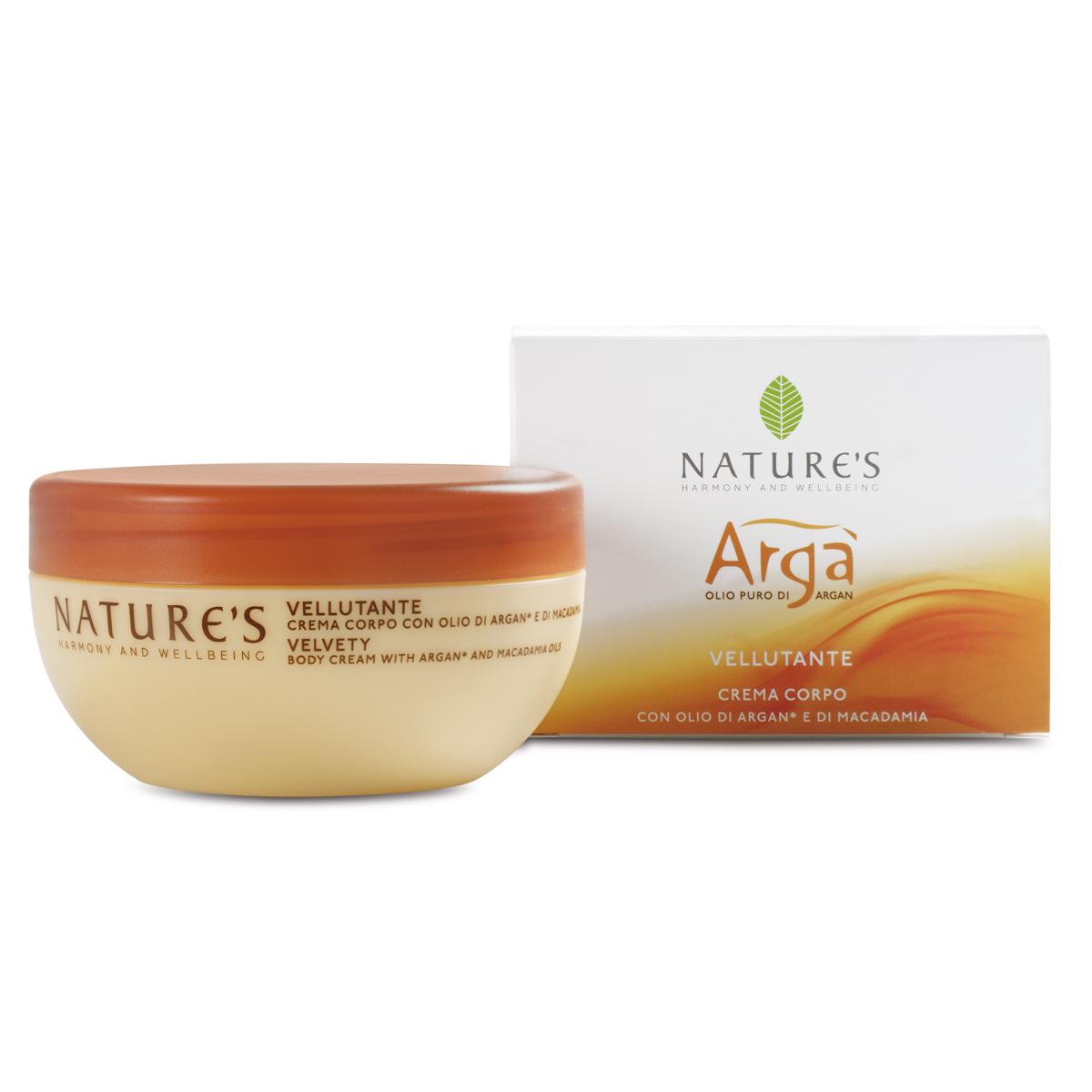 Крем для тела Arga, бархатный, 200 мл крема для сухой кожи