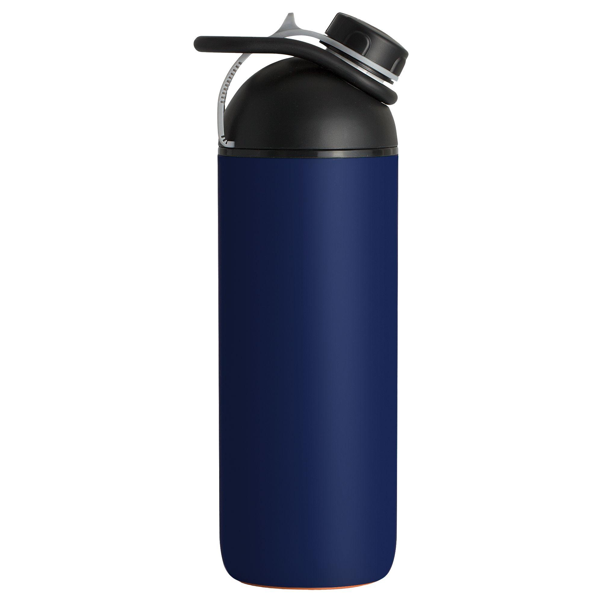 Бутылка для воды Indivo fixFlask, синий колонка indivo stuckspeaker orange