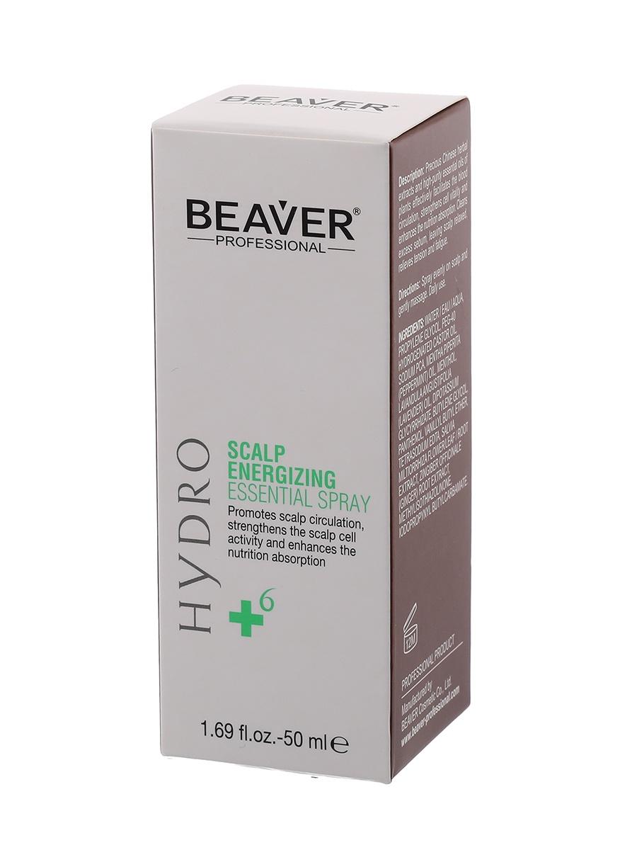 Спрей уходовый Beaver против выпадения волос на основе эфирных масел тонизирующий