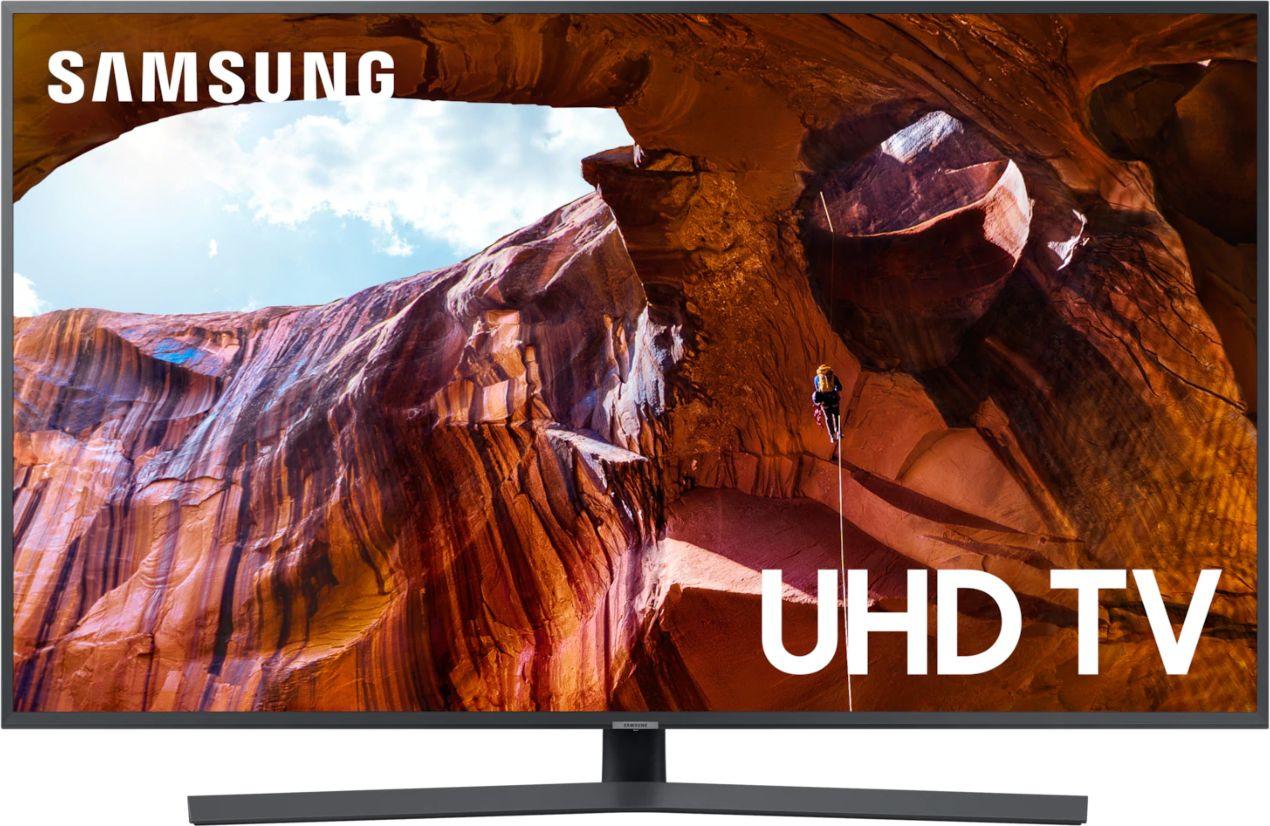 Телевизор Samsung UE55RU7400UX 55, серый телевизор samsung qe55q8cnauxru 55