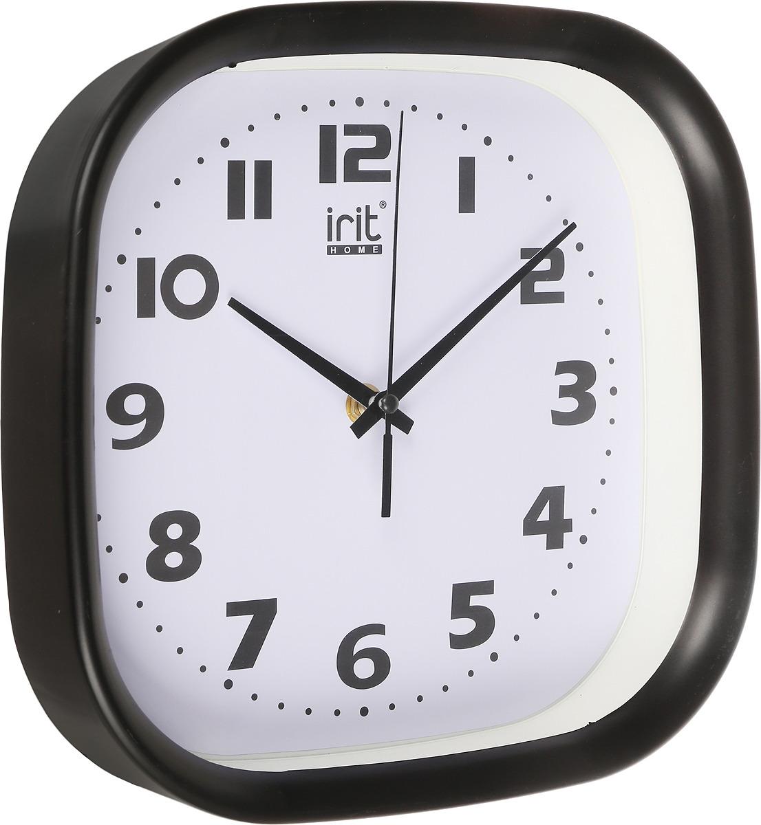 Настенные часы Irit IR-613, кварцевые, диаметр 30 см
