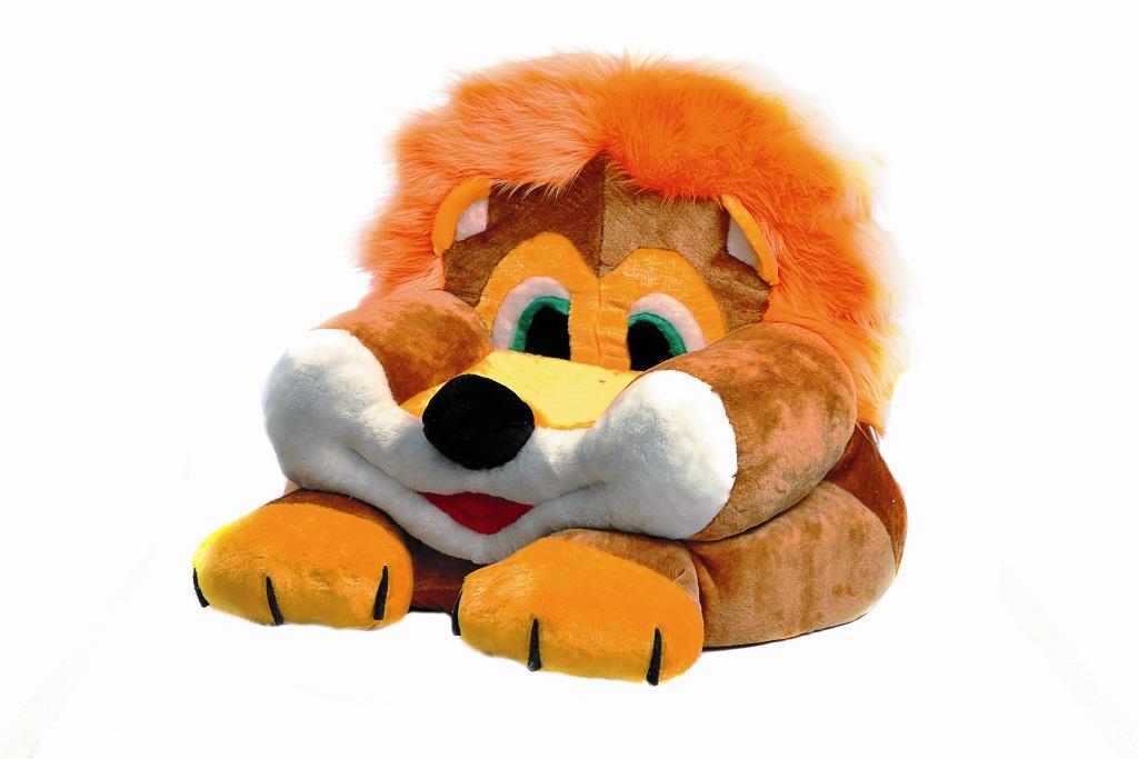 Кресло детское Аймид 404 Кресло Лев, оранжевый