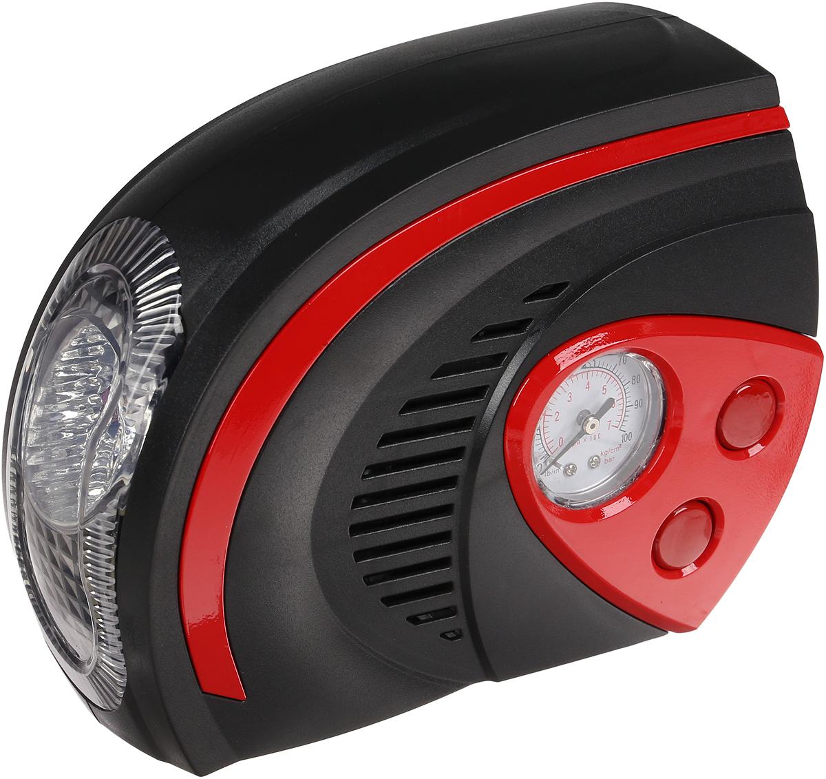 Автомобильный компрессор Nova Bright, 47161, до 25 л/мин, 100 PSI, 12В, LED-фонарь