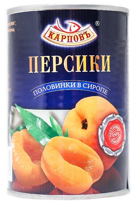 Фруктовые консервы  Персики в сиропе