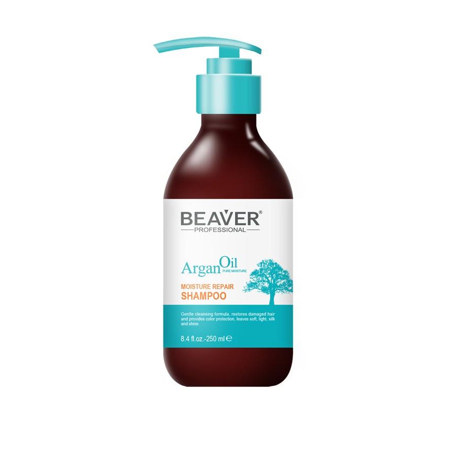 Шампунь для волос Beaver Увлажняющий и восстанавливающий на основе арганового масла ogx vitamin e шампунь для комплексного ухода за волосами с витамином е vitamin e шампунь для комплексного ухода за волосами с витамином е 385 мл