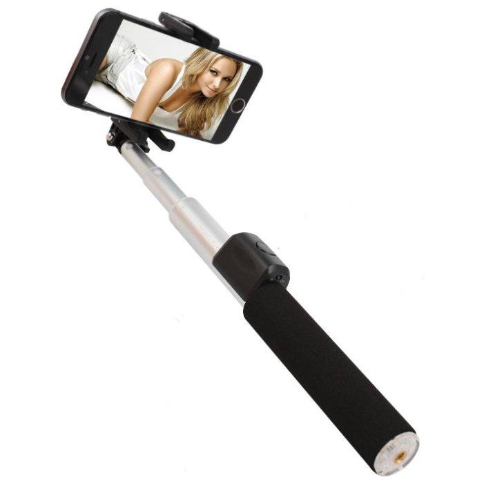 Монопод для селфи REMAX Selfie Stick Bluetooth, серебристый