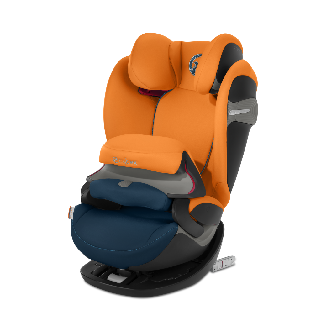 Автокресло Cybex Pallas S-Fix оранжевый