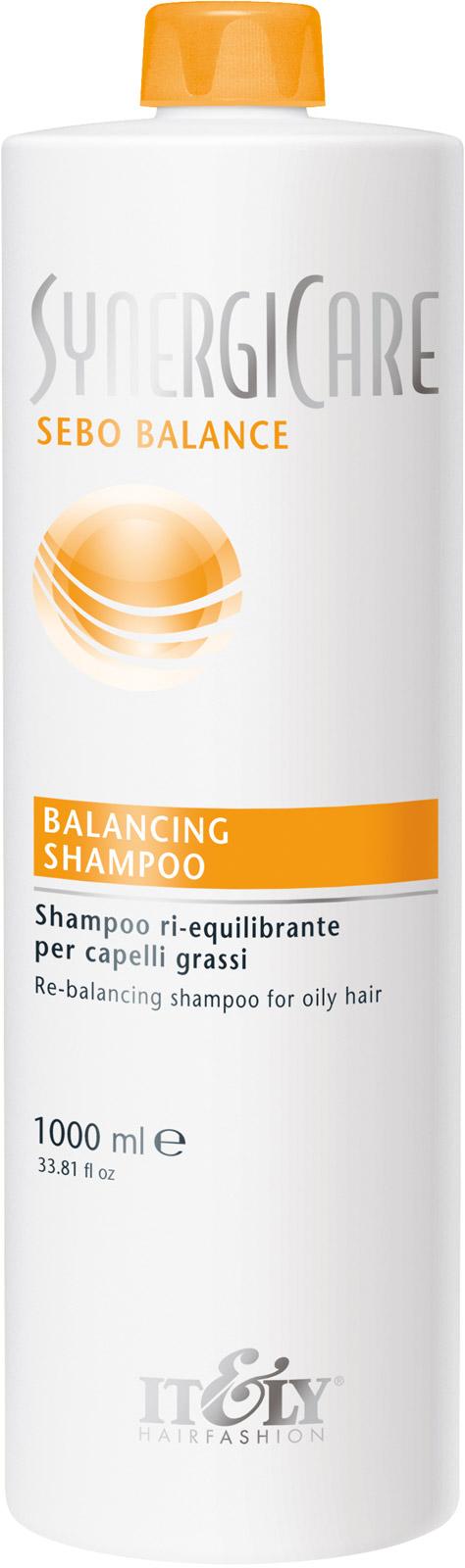 Шампунь для волос Itely Hairfashion балансирующий для жирной кожи головы BALANCING SHAMPOO 1000 ml