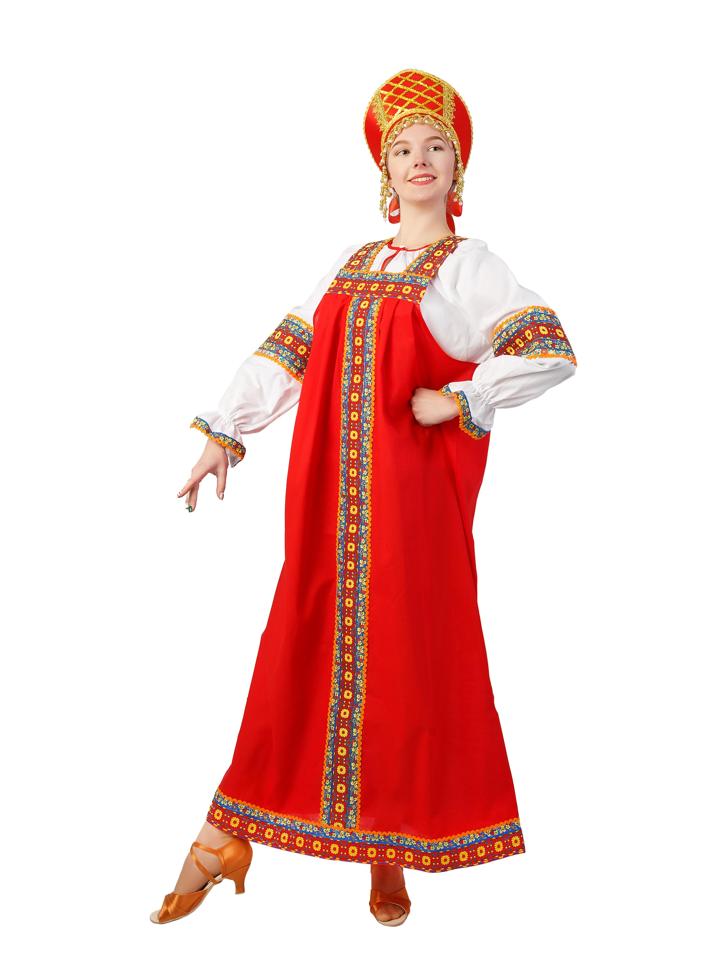 Карнавальный костюм Gala-Вальс Русский народный костюм