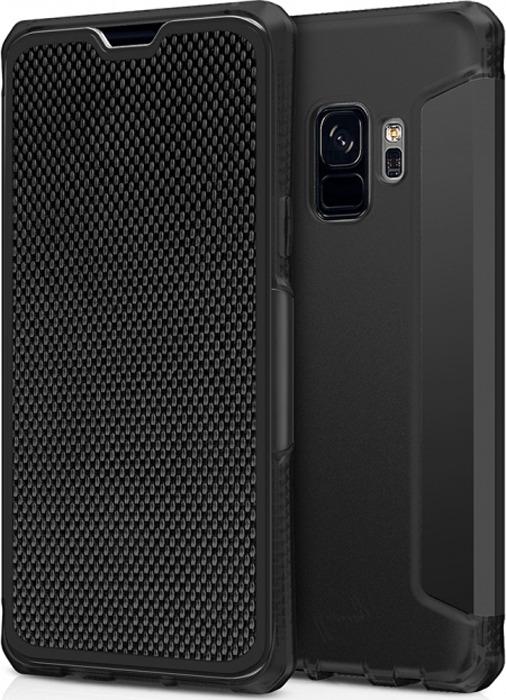 Чехол-книжка Itskins Spectrum Folio для Samsung Galaxy S9, черный