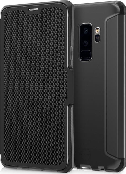 Чехол-книжка Itskins Spectrum Folio для Samsung Galaxy S9+, черный