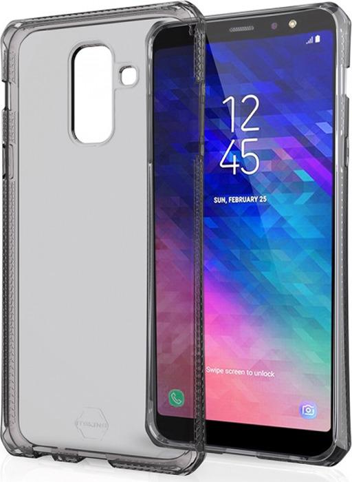 Чехол-накладка Itskins Spectrum Clear для Samsung Galaxy A6+ (2018), черный