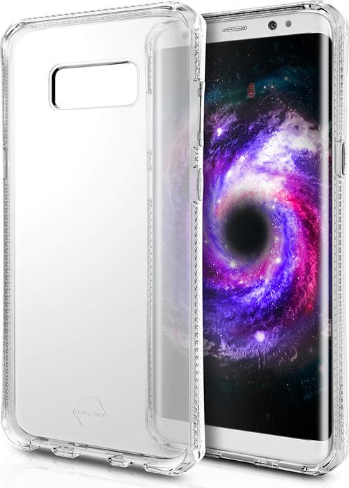 Чехол-накладка Itskins Spectrum Clear для Samsung Galaxy S8+, прозрачный