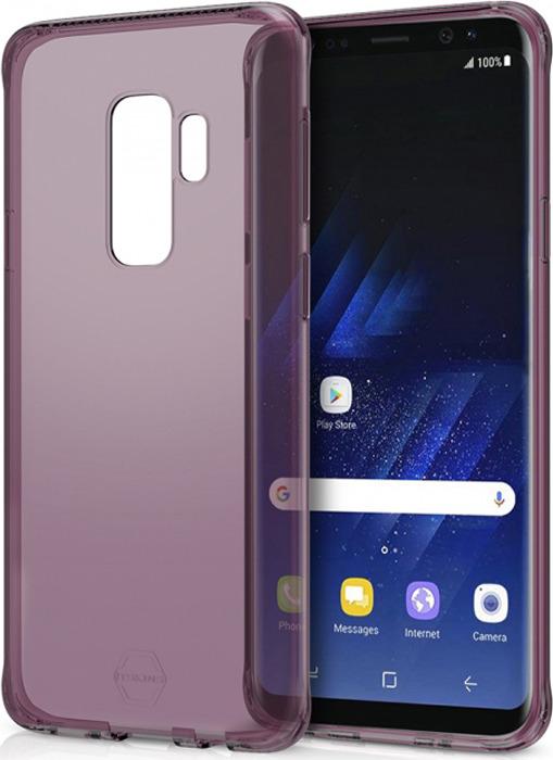 Чехол-накладка Itskins Spectrum Clear для Samsung Galaxy S9+, лиловый