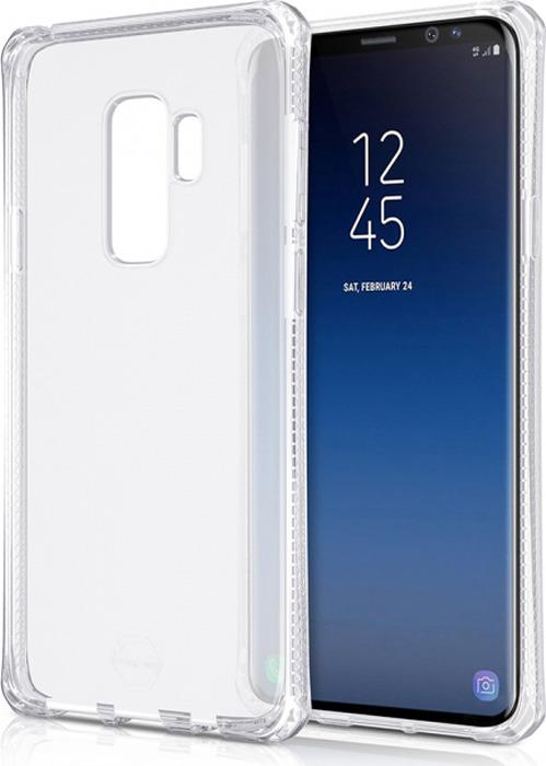 Чехол-накладка Itskins Spectrum Clear для Samsung Galaxy S9+, прозрачный