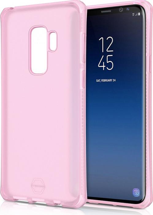 Чехол-накладка Itskins Spectrum Frost для Samsung Galaxy S9+, светло-розовый