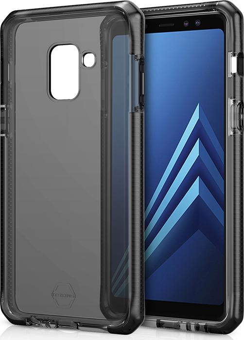 Чехол-накладка Itskins Supreme Clear для Samsung Galaxy A8 (2018), черный