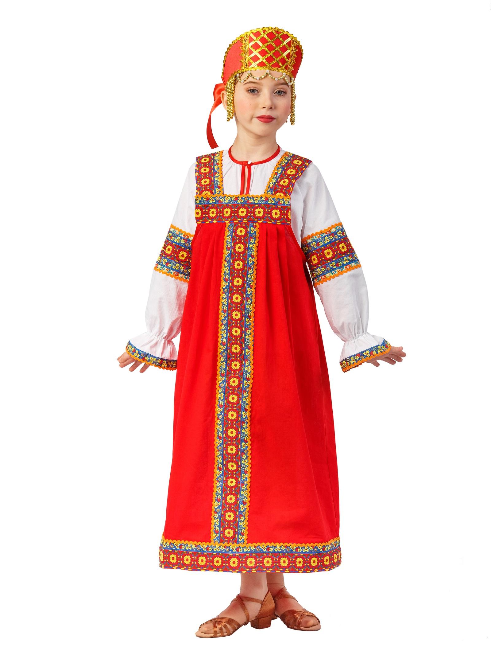 Костюм русской девушки картинки