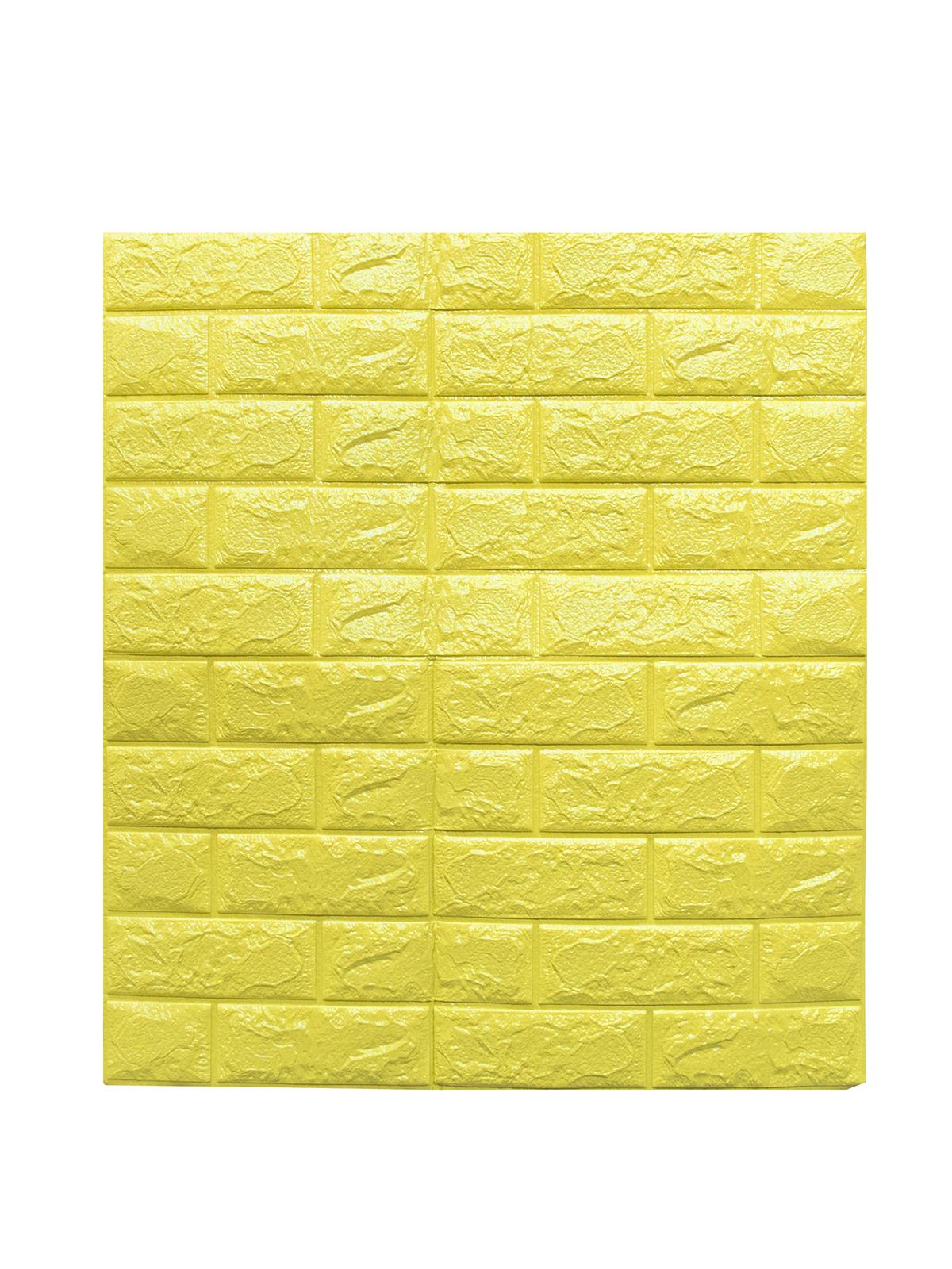 Фото - Панели для стен мягкие Кирпичная стена желтые Удачные покупка стикеры для стен zooyoo1208 zypa 1208 nn