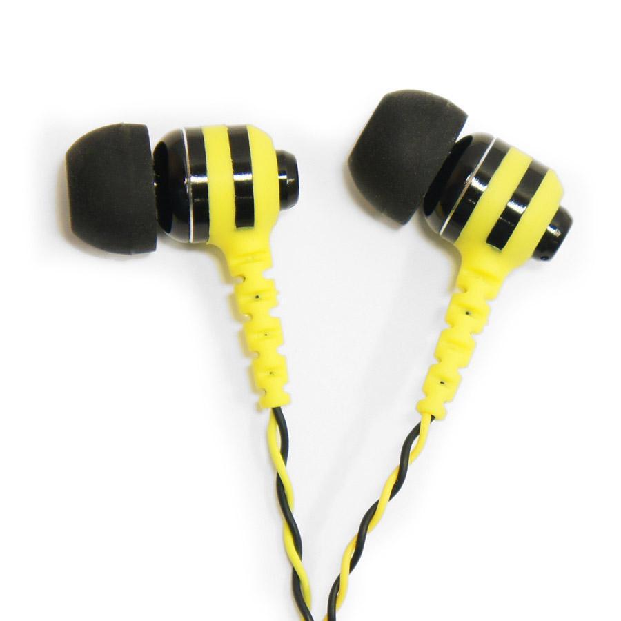 Наушники Fischer Audio FAW, желтый, черный Fischer Audio