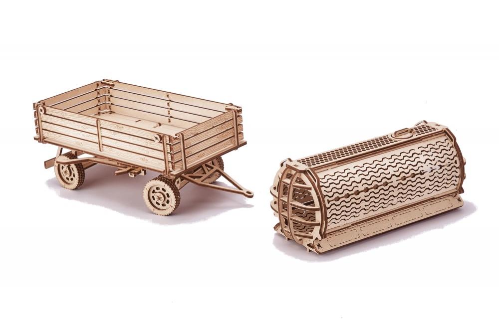 Механический конструктор Wood Trick Прицепы для трактора