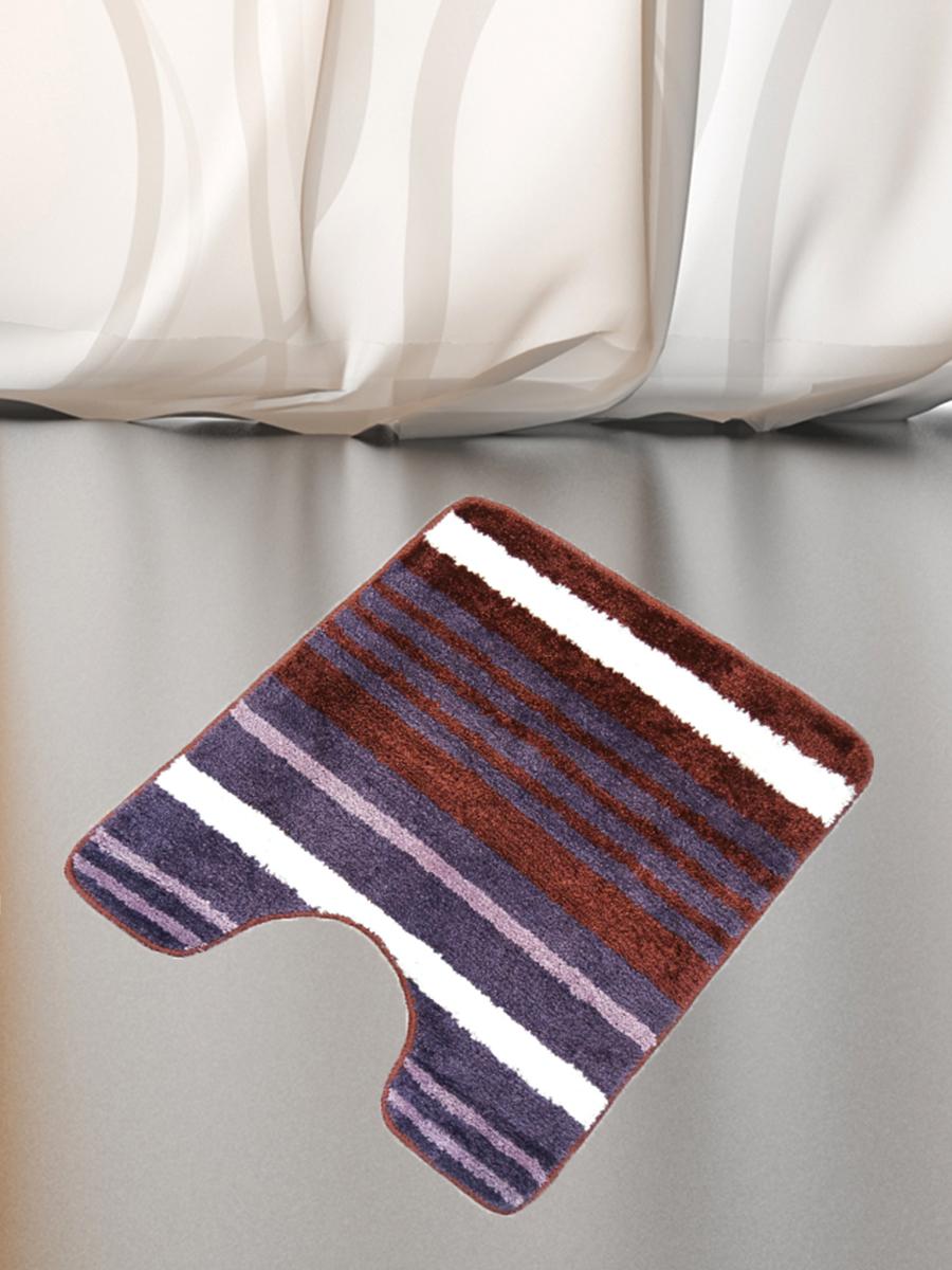 Коврик для туалета BATH PLUS NN115_6, фиолетовый