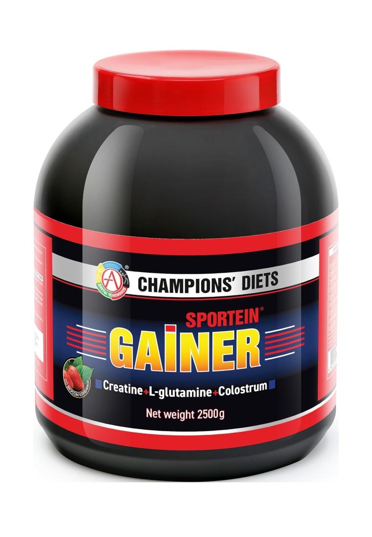 Гейнер Академия-Т Sportein. Gainer, клубника, 2,5 кг