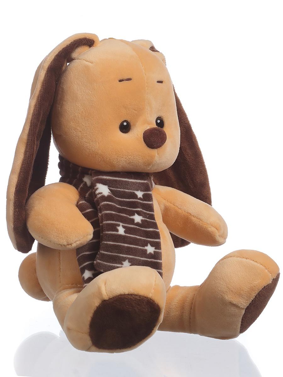 Мягкая игрушка TOY and JOY Кролик мягкий 1-3705-19 joy toy машина автотехника самосвал 9463c