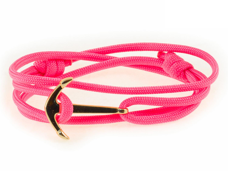 Набор для создания браслета из паракорда АНДАНТЕ ЯКОРЬ (розовый)