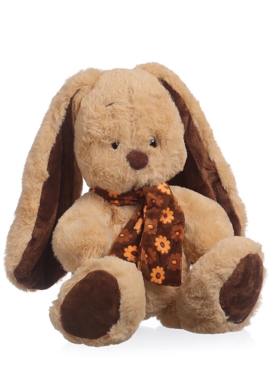 Мягкая игрушка TOY and JOY Кролик в шарфе 1-3330-22 цена