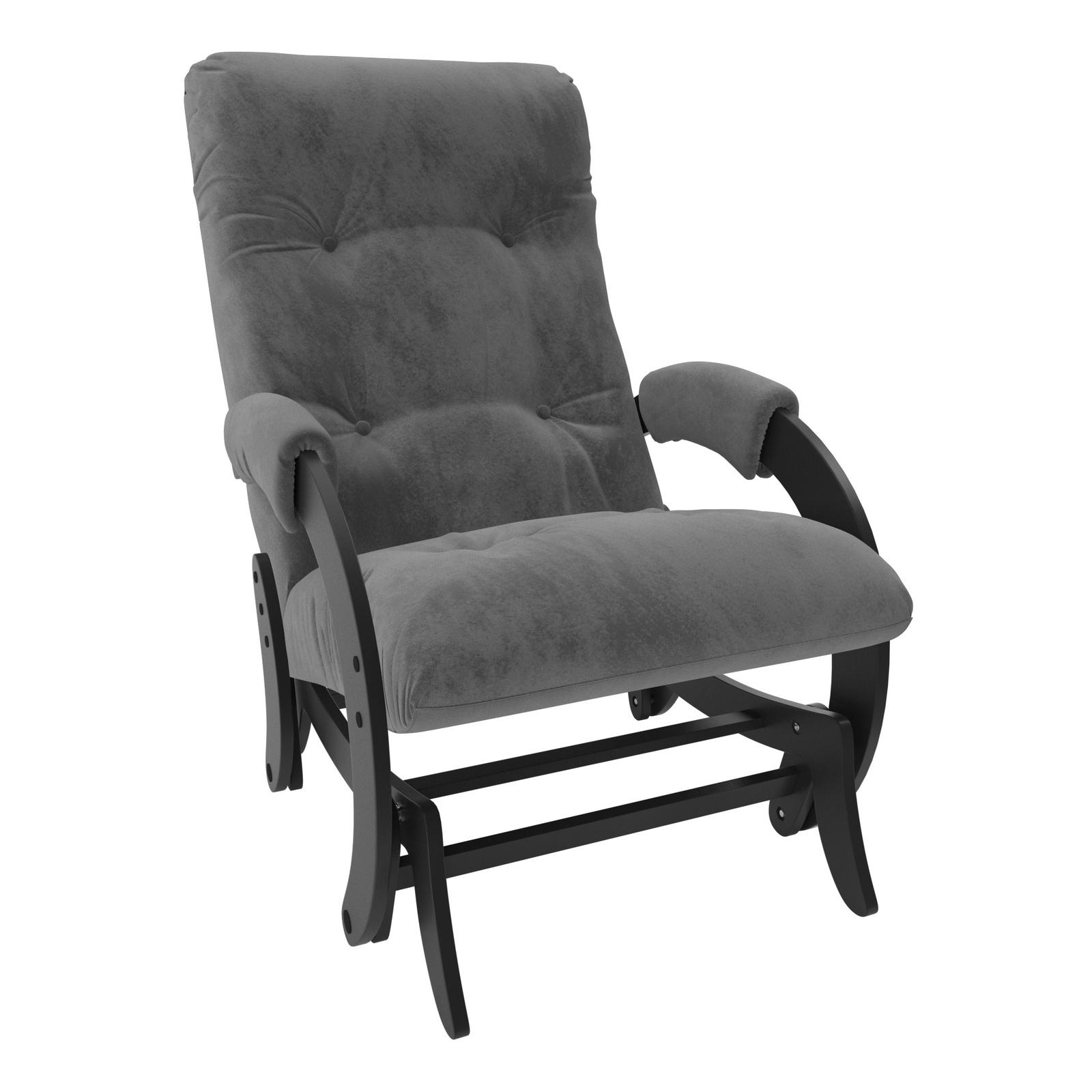 Кресло-качалка Комфорт model-68, серый