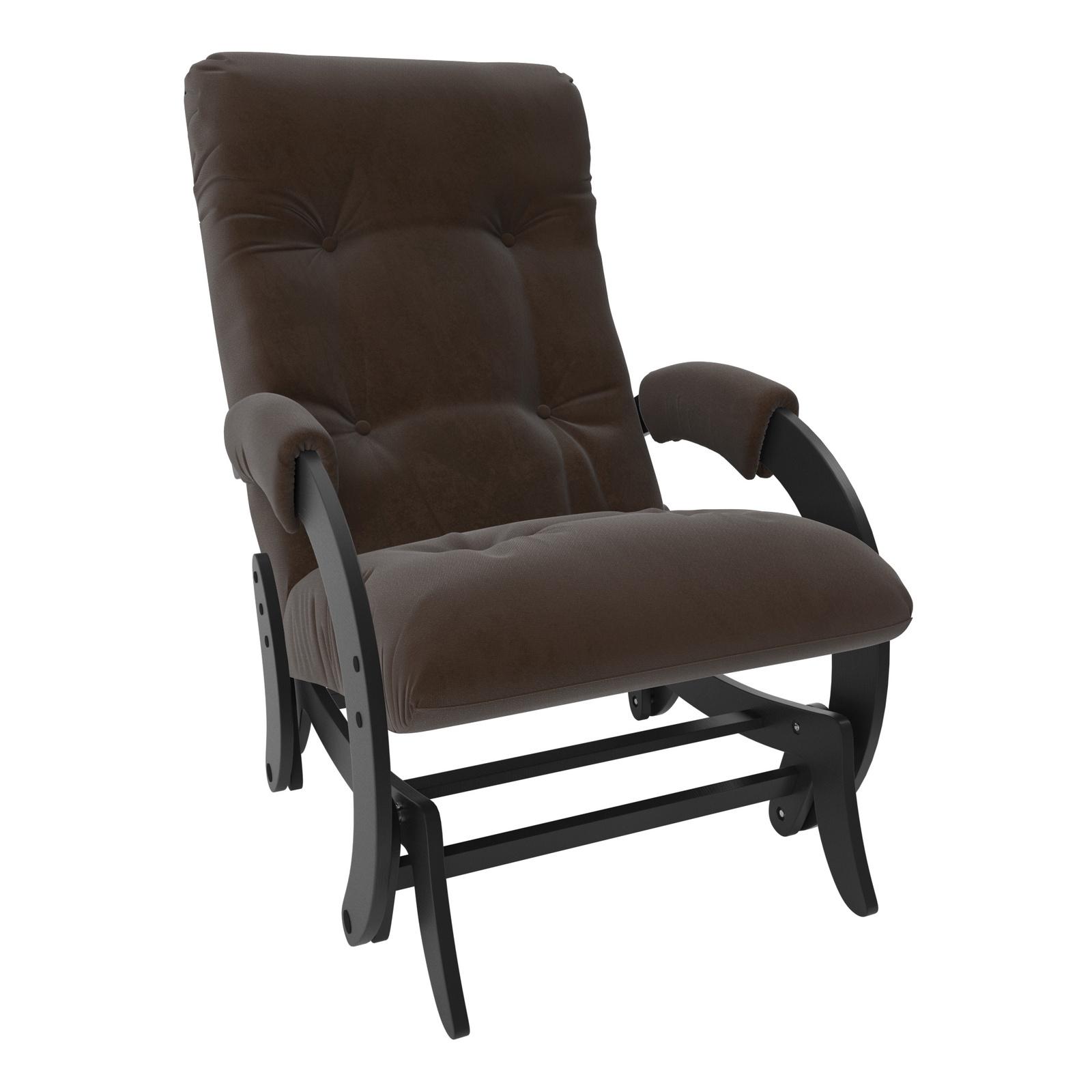 Кресло-качалка Комфорт model-68, коричневый