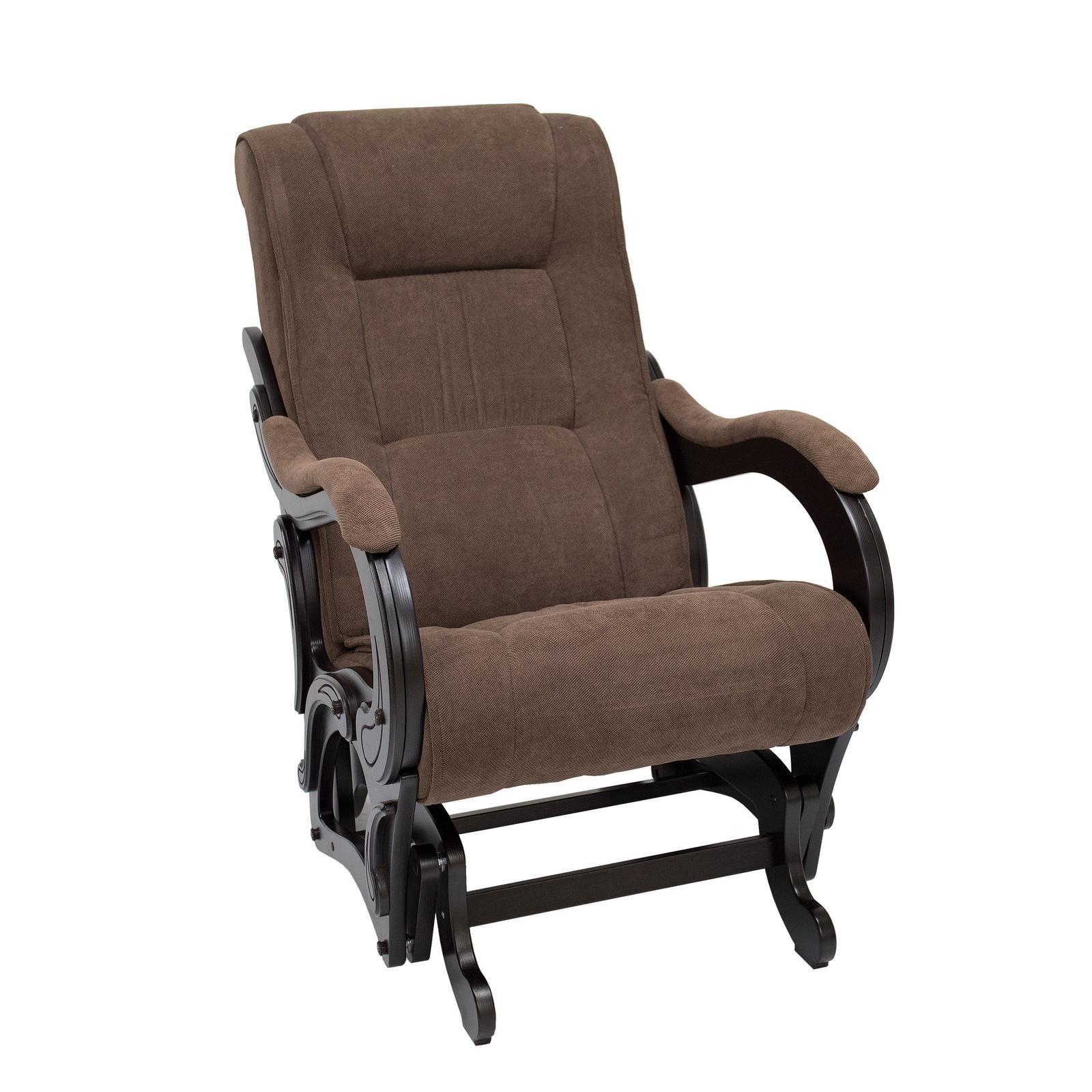 Кресло-качалка Комфорт model-78, коричневый