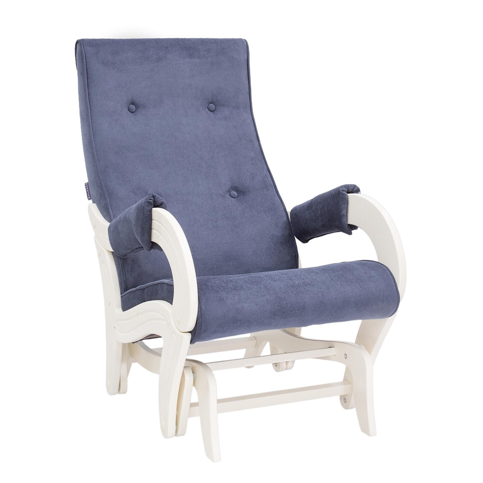 Кресло-качалка Комфорт Модель 708, синий