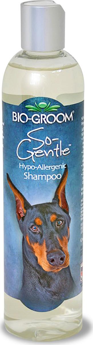 Шампунь для собак и кошек Bio-Groom So-Gentle, гипоаллергенный, 355 мл шампунь для кошек и собак bio groom so gentle гипоаллергенный 3 8 л