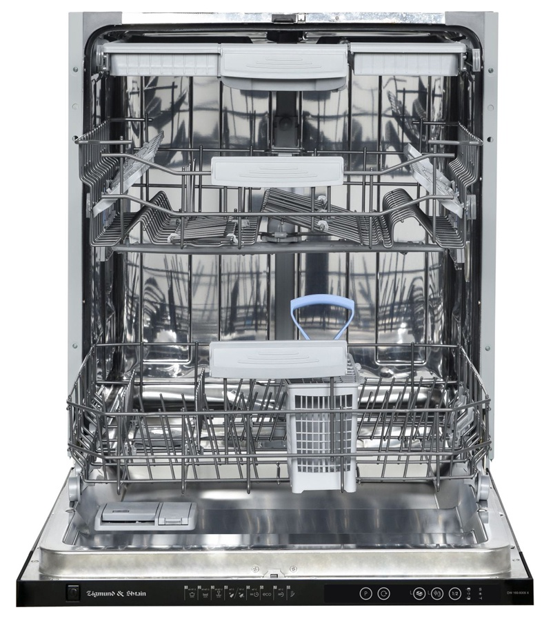 Посудомоечная машина Zigmund & Shtain DW 169.6009 X, серебристый