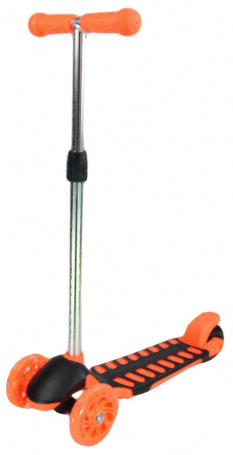 Самокат Farfello S968, оранжевый самокат
