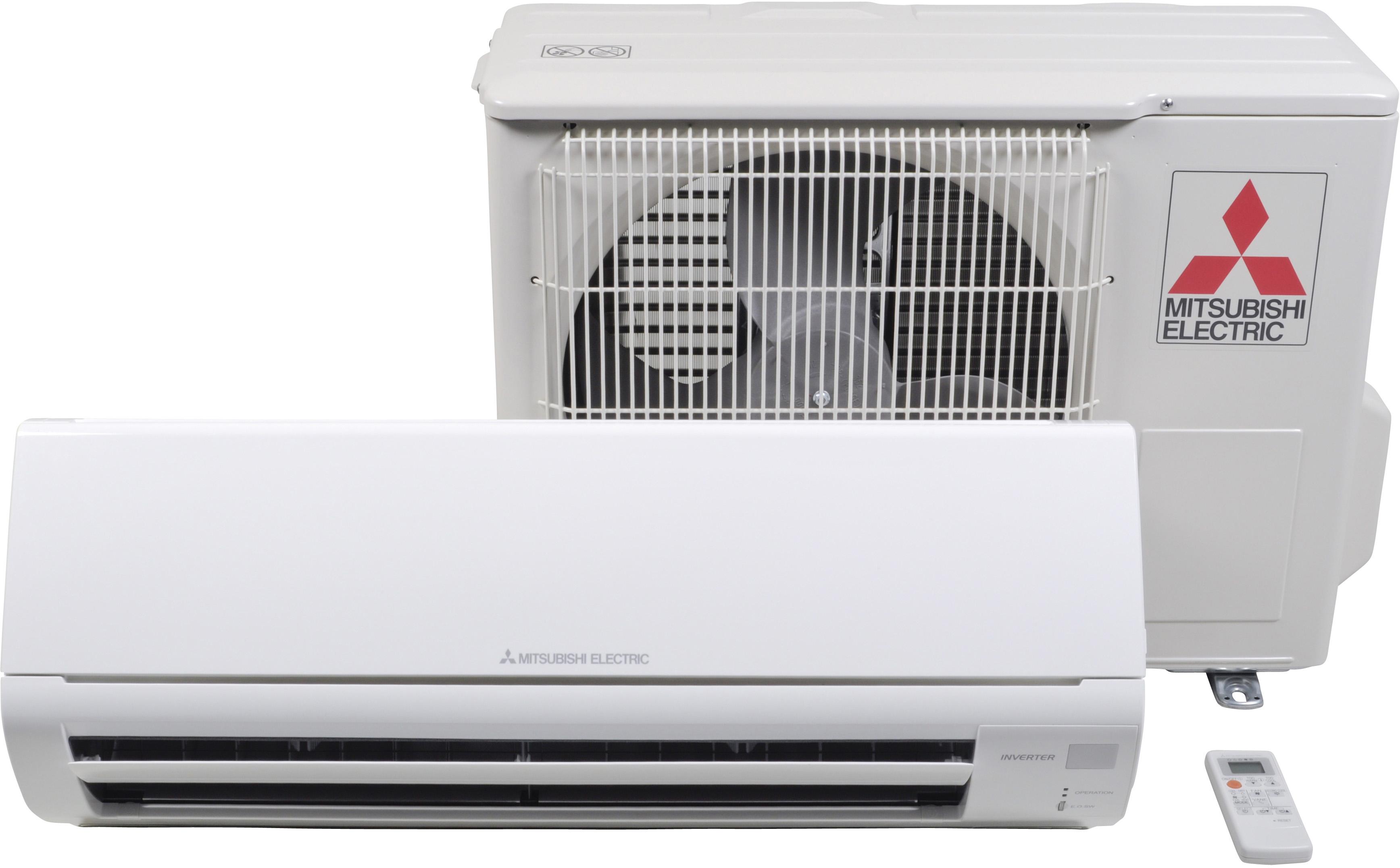 Сплит-система Mitsubishi Electric MSZ-HJ25VA/MUZ-HJ25VA, белый