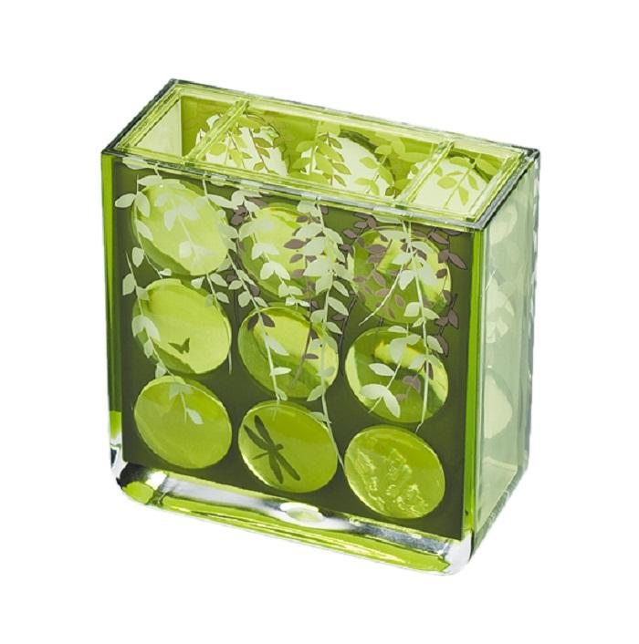 Стакан для ванной комнаты Tatkraft 13131, зеленый tatkraft детям