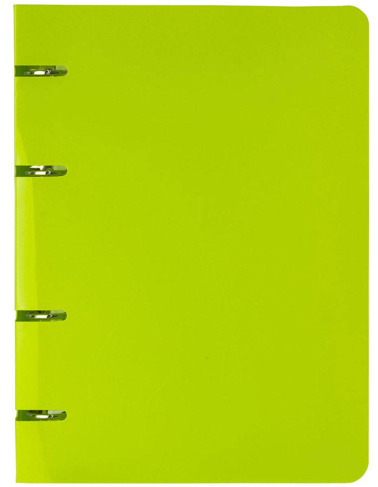 Тетрадь со сменным блоком Index IN8001/gn тетрадь на кольцах веселые еноты со сменным блоком